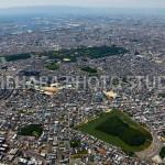 百舌鳥古墳群と大阪湾