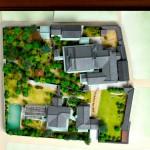 西尾家住宅模型全景俯瞰