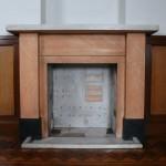 西棟応接室暖炉